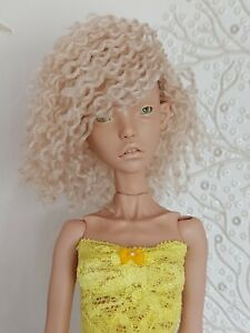 WIG for BJD 1/4 doll (Popovy), 1/6 (chibilana) beige/short