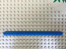 LEGO 1 ROTAIA TRENO DRITTA blu Art.3228 1x16 SCHIENE EISENBAHN blue blaue