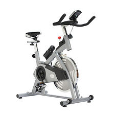 Soozier Upright Stationary Exercise Bike Cycling Fitness Adjustable Home Gym