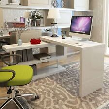 White IKEA Home Study Office Desk Table 125cm by 75cm