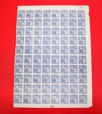 1949 china Liberated areas stamp 100 yuan  block of 80 unused