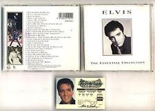 Cd ELVIS PRESLEY The essential collection PERFETTO mai usato 1994 Driver license