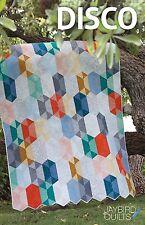 Disco Quilt Pattern ~ Julie Herman ~ Jaybird Quilts ~ uses Hex N More ruler