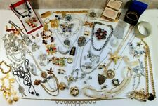 70pc vintage & costume jewelry lot Trifari Coro BSK Sarah Cov KJL Danecraft