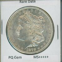 1878 S Morgan Dollar $1 US Mint Rare Date Gem PQ Silver Coin 1878-S MS+++++