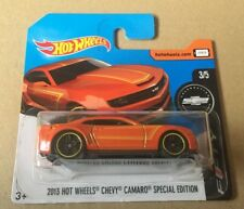"DIE CAST "" 2013 HOT WHEELS CHEVY CAMARO SPECIAL EDITION "" HOT WHEELS SCALA 1/64"
