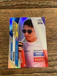 2020 Topps Chrome Formula 1 Lando Norris #161 Rookie RC Refractor