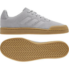 8b3655449c91 adidas Court 70S Grey B79776 Suede Casual Trainers Size UK 8