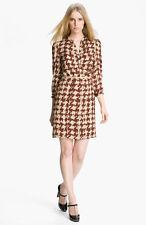 Burberry Brit Print Silk Dress (size L)