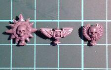 Space Marine Terminator Back Symbol x 3 - Warhammer 40K Bits
