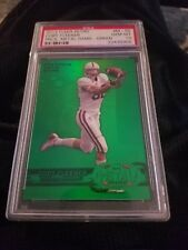 2012 Fleer Retro Coby Fleener Precious Metal Gems Green Card #ed 9/10 PSA 10