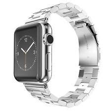 Stainless Steel Wrist iWatch Band Strap For Apple Watch Series 5/4/3/2/1 40/44mm