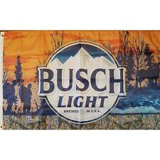 New listing Bush Light Outdoors 3x5 Feet Flag Banner College Dorm Frat
