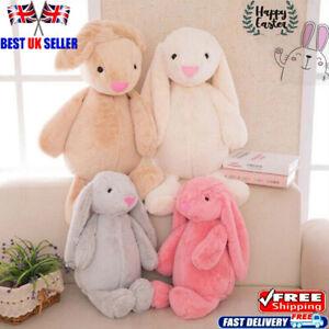 4Pcs/Set Easter Bunny Soft Plush Toys Rabbit Stuffed Animal Dolls Kids Gift 12in