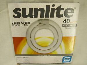 Sunlite Fluorescent T5 Double Circline Tube Light Bulb (4100K) - 40W, 2800 Lumen