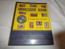 "1964 Copyright ""Ambassador Album"", Stamps of the World Except U.S. Loaded!"