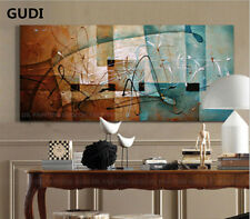 GUDI-MODERN ABSTRACT HUGE WALL DECORATE CANVAS ART OIL PAINTING Unframed