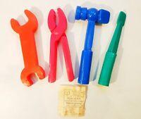 Vintage USSR Toy Tools Set 1983 New