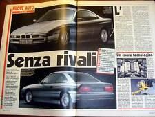 AUTO OGGI - BMW 850i KADETT GSI VS GOLF G60 RALLY, LA 405 T 16 E' LA REGINA