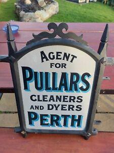 Original used vintage enamel signs