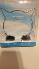 Cat Ear Headphones Silver Art and Sound