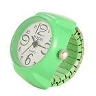 Finger Ring Watches Elastic Band Quartz Analog Watch Creative Gift for Men Women