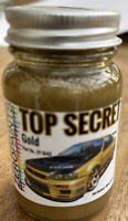 Top Secret GOLD Airbrush ready paint Nissan Skyline R33 R34 R35 GT-R 60ml 1042