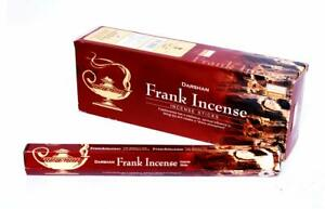 Darshan Frank Incense Incense Sticks Fragrance AGARBATTI 6 Pack Of 20 Sticks