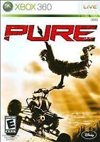 Pure (Microsoft Xbox 360, 2008) Disc Only Tested Fast Free Shipping!