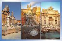 Italy Roma multiviews souvenir, different aspects