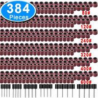 384 tlg Drehwerkzeug Schleifset Polierset Drill Zubehör Schleifer Set Für Dremel