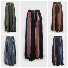 Wide Leg Rayon Casual Pants for Women