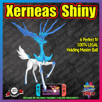 Shiny XERNEAS | Crown of Tundra | 100% Legal | 6IV |  Pokemon Sword Shield