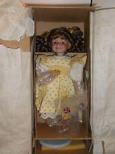"""Ashton-Drake Porcelain Doll """"Sunshine & Lollipops"""" by artist Dianna Effner"""