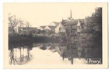 CALDEY ISLAND The Priory, RP Postcard Unused