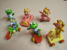McDonalds 1987 Muppet Babies Ii (2) - Complete Set Plus 2 U3s - Loose
