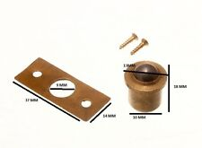 Roller Ball Catch And Keeper Solid Brass Body 10mm + Screws ( Pack 24 )