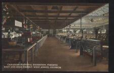 POSTCARD TORONTO CA/CALIFORNIA BOOT, SHOE & AUTOMOBILE EXHIBITS 1920'S