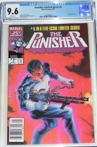 Punisher Limited Series #5 CGC 9.6 Newsstand Edition. Jigsaw appearance