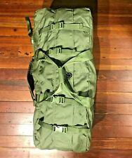 Usgi Enhanced Nylon Duffle Bag Backpack Tactical 2 Strap Army Military Duffel