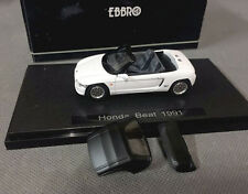Ebbro, 1/43, DieCast, Model, Honda, Beat, White, 1991, With soft top, Rare