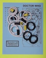 1992 Bally / Midway Doctor Who / Dr Who pinball rubber ring kit