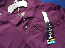 Pga Tour Motionflux 360 Ls Golf Polo - M - Winter Plum - Nwt - Top Quality - $60
