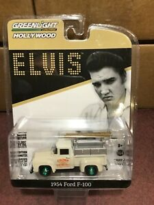 Greenlight  HOLLYWOOD Elvis  1954 Ford F-100 Pickup Crown Electric GREEN MACHINE