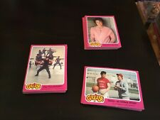 ~75 Grease Cards Pink And Green Cards