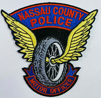 Nassau County Police Motor Officer Motorcycle Long Island New York NY Patch (A4)