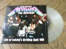 METALLICA play Motorhead LP live at Lemmy's birthday bash 95 Vinyl Couleur