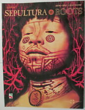 Sepultura Roots guitar book with tablature Cherry Lane