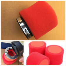 Performance Washable Universal 58mm Racing Motorcycles Foam Air Filter Straight