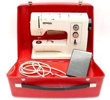 Bernina 830 Record ELECTRONIC Sewing Machine W/ Original Case SERVICED